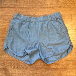 Madewell size S chambray shorts